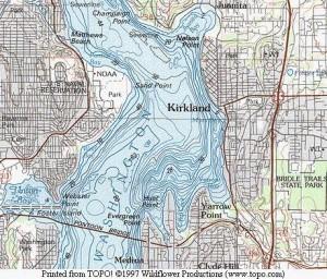 Lake Washington Chart